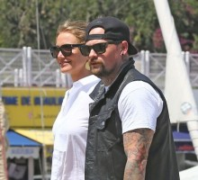 Cameron Diaz & Benji Madden Display PDA Following Celebrity Wedding and Honeymoon