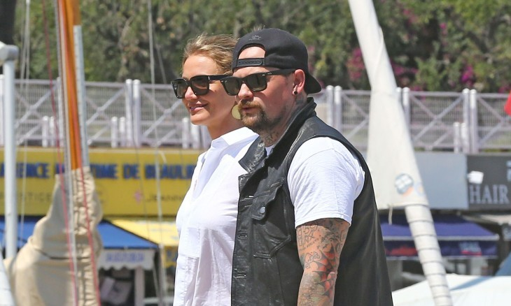 Cupid's Pulse Article: Cameron Diaz & Benji Madden Display PDA Following Celebrity Wedding and Honeymoon