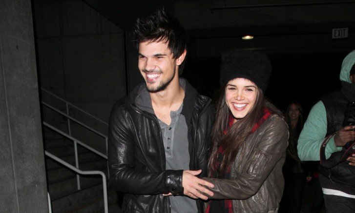 Cupid's Pulse Article: Celebrity Break-Up: 'Twilight' Star Taylor Lautner Splits from Marie Avgeropoulos