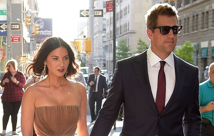 Cupid's Pulse Article: Olivia Munn Supports Boyfriend Aaron Rodgers at Every Green Bay Packers Home Game