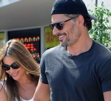 Sofia Vergara and Joe Manganiello Are Like High School Kids In Love
