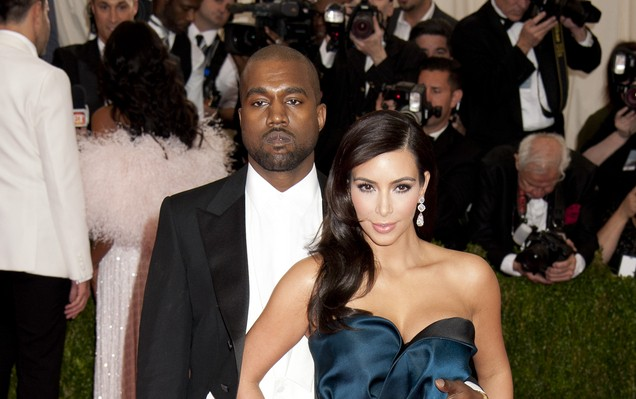Best Dressed Celebrity Couples: Kanye West and Kim Kardashian