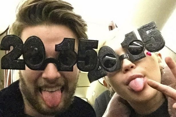 Hollywood couple Miley Cyrus & Patrick Schwarzenegger enjoy a celebrity vacation to solidify their relationship and love. Photo courtesy of Instagram.
