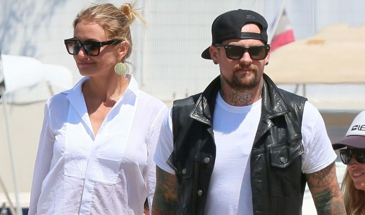 Celebrity Couples Celebrating Their First Valentine's Day Together: Cameron Diaz and Benji Madden