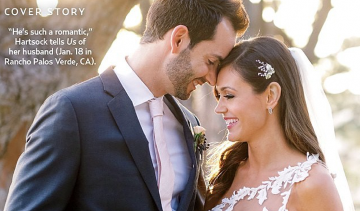 Cupid's Pulse Article: Former 'Bachelorette' Desiree Hartsock Shares Celebrity Wedding Photos