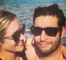 Celebrity Vacations: Kristin Cavallari and Jay Cutler Get Cozy in Pool Pics