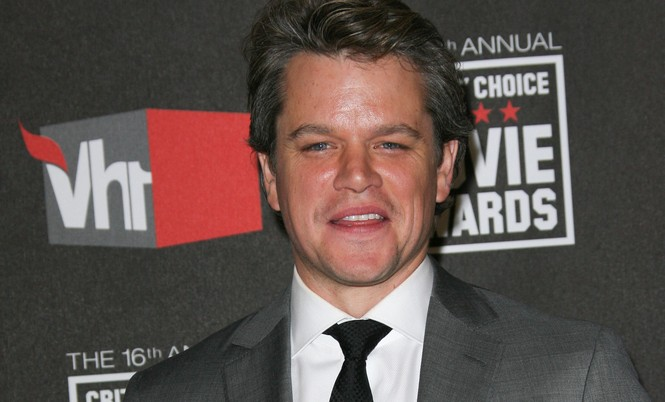 Matt Damon. Photo: Bob Charlotte / PR Photos