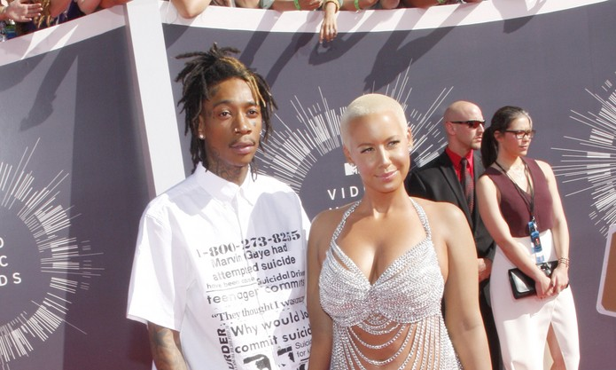 Cupid's Pulse Article: Wiz Khalifa Calls Celebrity Ex Amber Rose a 'Foul Creature' on Twitter