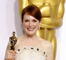Celebrity News: Julianne Moore Says Husband Was First to See 'Still Alice' and Predicted Oscar Win