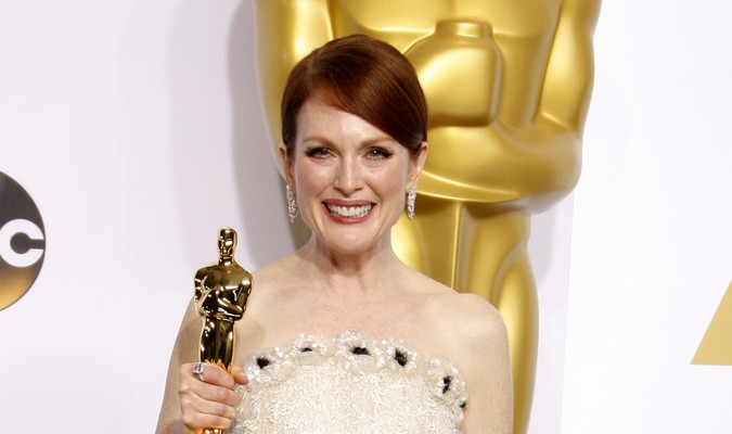 Cupid's Pulse Article: Celebrity News: Julianne Moore Says Husband Was First to See 'Still Alice' and Predicted Oscar Win