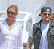 Famous Couple Cameron Diaz & Benji Madden Valentine's Double Date with Nicole Richie & Joel Madden