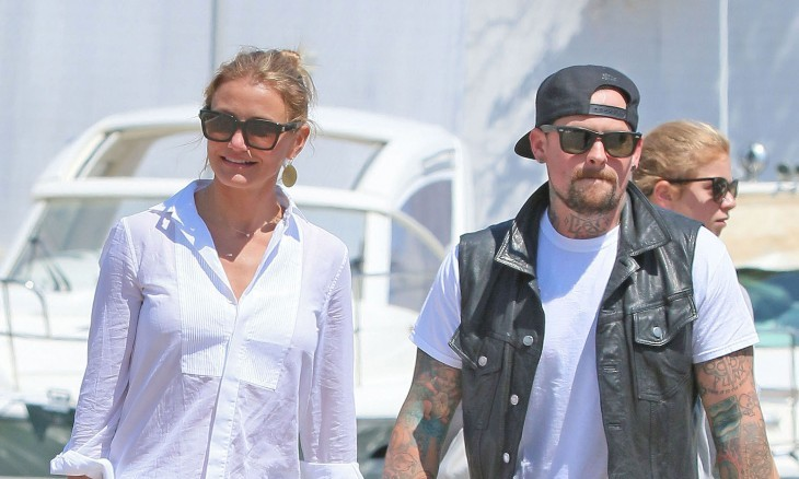 Cupid's Pulse Article: Famous Couple Cameron Diaz & Benji Madden Valentine's Double Date with Nicole Richie & Joel Madden