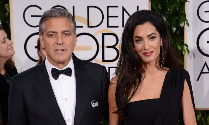 Best Dressed Celebrity Couples: George Clooney and Amal Alamuddin