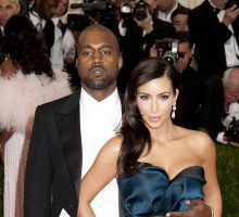 Famous Couple Kim Kardashian and Kanye West Show PDA After Brit Awards