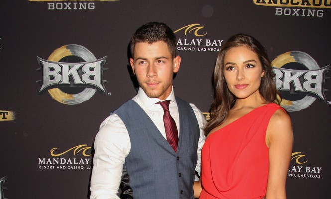Cupid's Pulse Article: Nick Jonas Scares Girlfriend Olivia Culpo with Prospect of Celebrity Engagement During Miss Universe