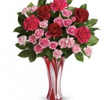 Giveaway: Teleflora's Swirls of Love Bouquet is Perfect for Valentine's Day!