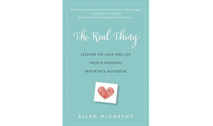 In her new book about love, relationship author Ellen McCarthy shares her best relationship & love advice after years as a wedding reporter.