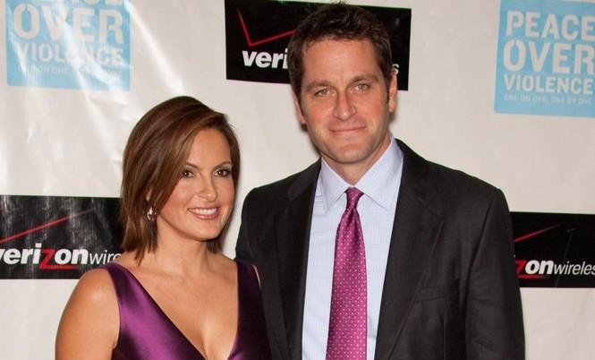 Mariska Hargitay and Peter Hermann. Photo: Chris Hatcher / PR Photos