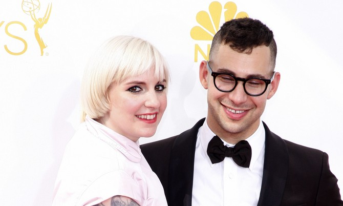 Cupid's Pulse Article: Celebrity Break-Up: Lena Dunham & Jack Antonoff Split After 5 Years Together