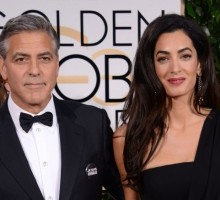 Celebrity Couple George Clooney and Amal Alamuddin Enjoy NYC Dinner Date