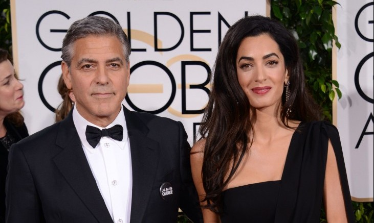 Cupid's Pulse Article: Celebrity Couple George Clooney and Amal Alamuddin Enjoy NYC Dinner Date