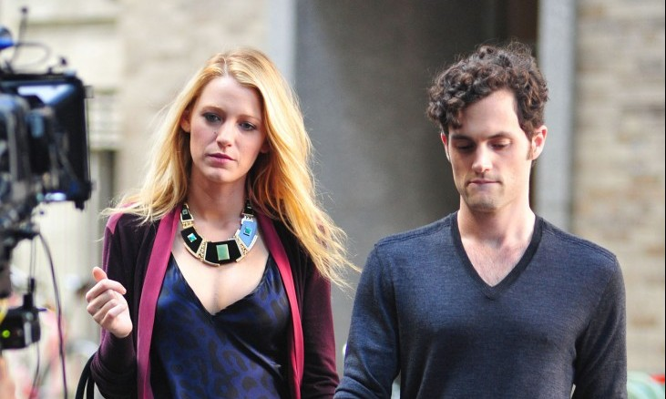 Cupid's Pulse Article: Penn Badgley Says Celebrity Ex Blake Lively Was Best and Worst On-Screen Kiss