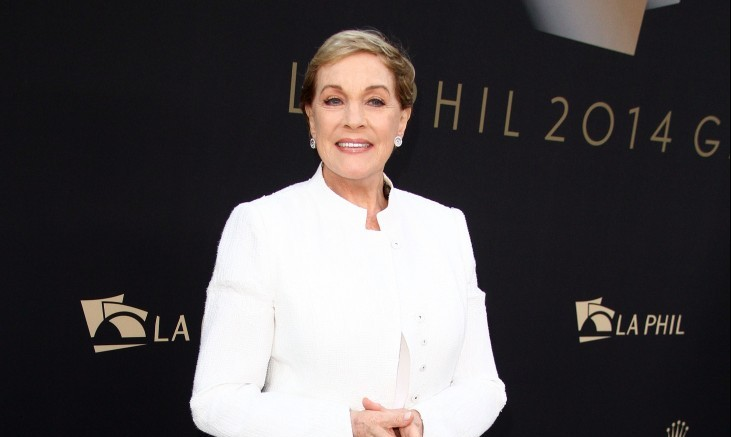 Julie Andrews gives advice on dealing with death. Photo: Juan Rico/FAMEFLYNET PICTURES