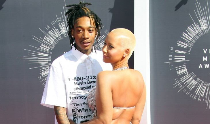 Cupid's Pulse Article: Celebrity News: Amber Rose Pays Tribute to Ex Wiz Khalifa on Father's Day