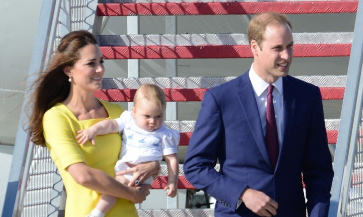 Kate Middleton and Prince William are expecting a second child. Photo: FAMEFLYNET PICTURES