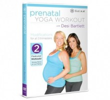 Gaiam Product Review: Stay Fit During Pregnancy with Desi Bartlett!