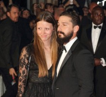 Is Shia LaBeouf Celebrating a Celebrity Engagement with Girlfriend Mia Goth?