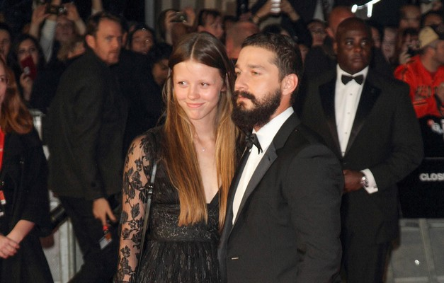 Cupid's Pulse Article: Is Shia LaBeouf Celebrating a Celebrity Engagement with Girlfriend Mia Goth?