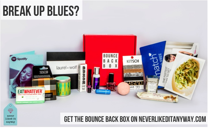Consider this love advice: To get over old relationships & love, check out NeverLikeditAnyway.com and Bounce Back Box in this product review.