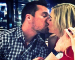Celebrity Couple: Chris Soules Kisses 'Bachelor' Winner Whitney Bischoff on Romantic Date Night