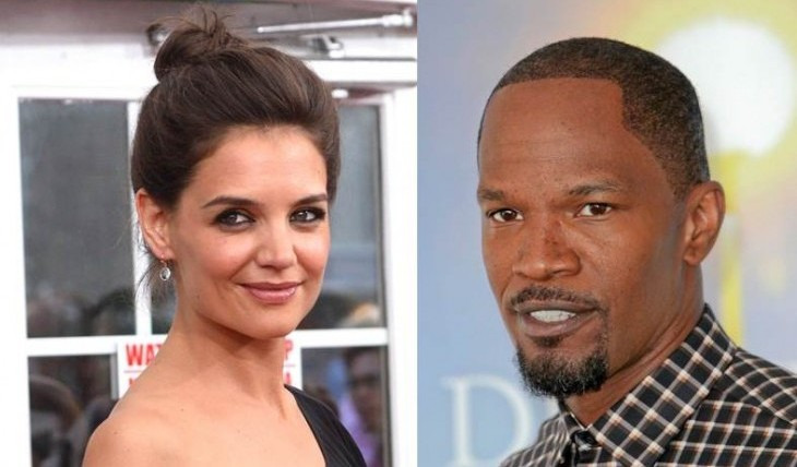 Cupid's Pulse Article: Celebrity Couple News: Katie Holmes Kisses Jamie Foxx on Yacht in Miami