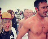 Latest Celebrity News: Lady Gaga Takes the Polar Plunge with Fiance Taylor Kinney