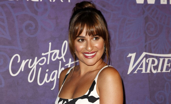 Cupid's Pulse Article: Celebrity News: Lea Michele Cuddles in Bed with BFF Jonathan Groff Post-Split from Matthew Paetz