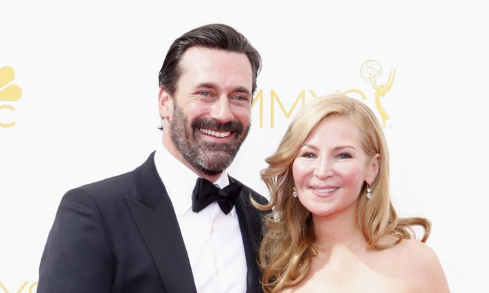 Cupid's Pulse Article: Famous Couple Jon Hamm and Jennifer Westfeldt Slam Break-Up Rumors