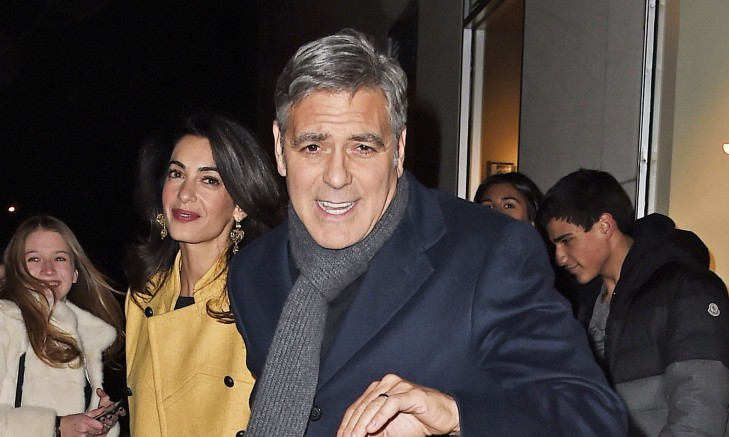 Cupid's Pulse Article: Famous Couple George Clooney and Amal Alamuddin Enjoy NYC Food Tour