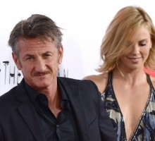 Sean Penn and Charlize Theron Enjoy Celebrity Getaway to Malibu Beach