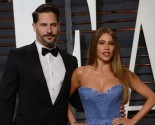 Joe Manganiello Lovingly Kisses Movie Advertisement of Celebrity Love Sofia Vergara