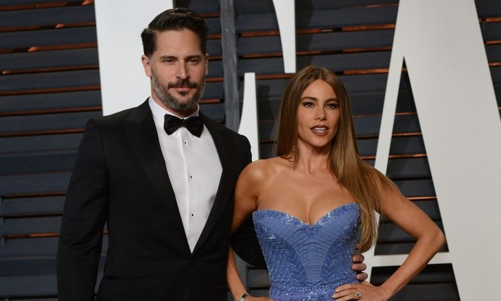 Cupid's Pulse Article: Joe Manganiello Lovingly Kisses Movie Advertisement of Celebrity Love Sofia Vergara