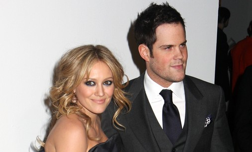 Hilary Duff and Mike Comrie. Photo:  Janet Mayer / PR Photos