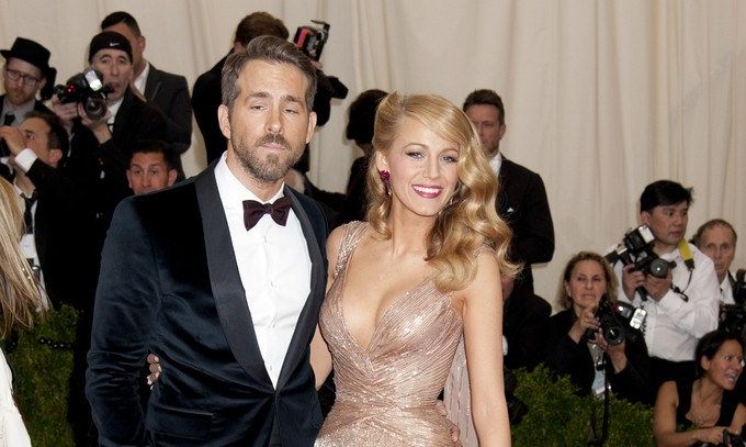 Cupid's Pulse Article: Hollywood Couple Blake Lively and Ryan Reynolds Battle for Daughter's First Word