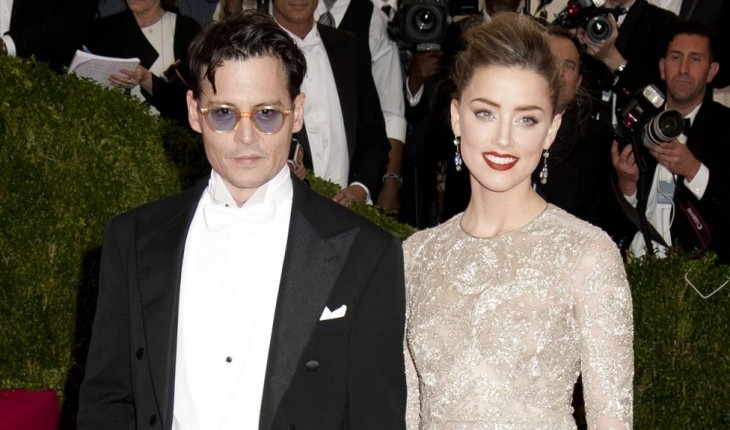 20 Hollywood Couples With A Big Age Gap: Johnny Depp and Amber Heard