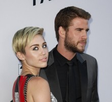 Celebrity Couple Miley Cyrus & Liam Hemsworth Hold Hands on Date Night in NYC
