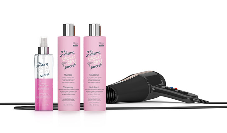 Product review of Performance Brand's My Amazing Blow Dry Secret line. Plus, enter our giveaway to win this great beauty product! Photo courtesy of Performance Brand.