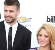 Shakira Cheers on Celebrity Love Gerard Pique at Soccer Match