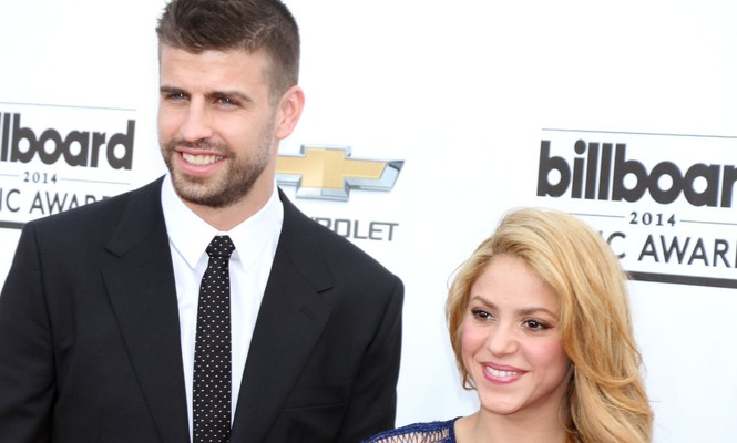 Cupid's Pulse Article: Shakira Cheers on Celebrity Love Gerard Pique at Soccer Match