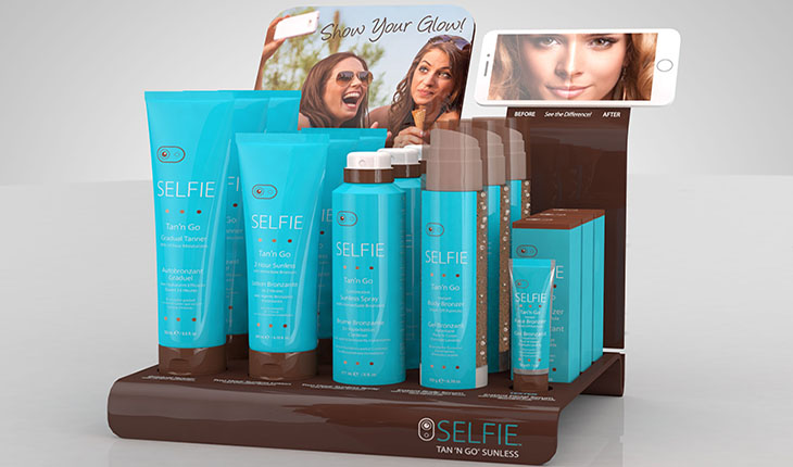 Product review of Performance Brand's line of Selfie Tan'n Go Instant Bronzers. Enter our giveaway for these amazing beauty products! Photo courtesy of Performance Brand.